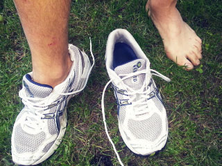 Beratung zu Fußproblemen